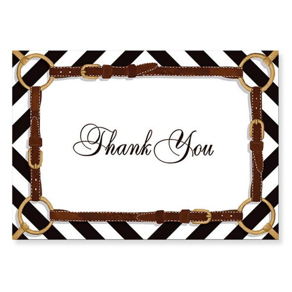 Bit & Reins Thank You Note Cards Pack