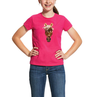 Ariat Girls Sequin Trigger T-Shirt