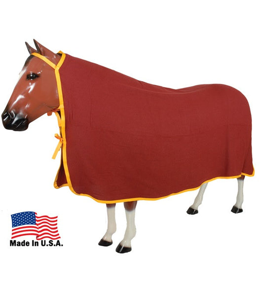 Parkston Cooler Taped & Bound Yukon Fleece - The Tack Shop of Lexington