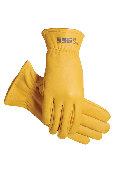 SSG 1600 Deerskin Unlined Rancher Glove - The Tack Shop of Lexington