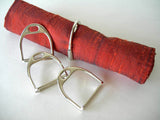 LILO Collections - Stirrups 4-Piece Napkin Rings - The Tack Shop of Lexington - 1