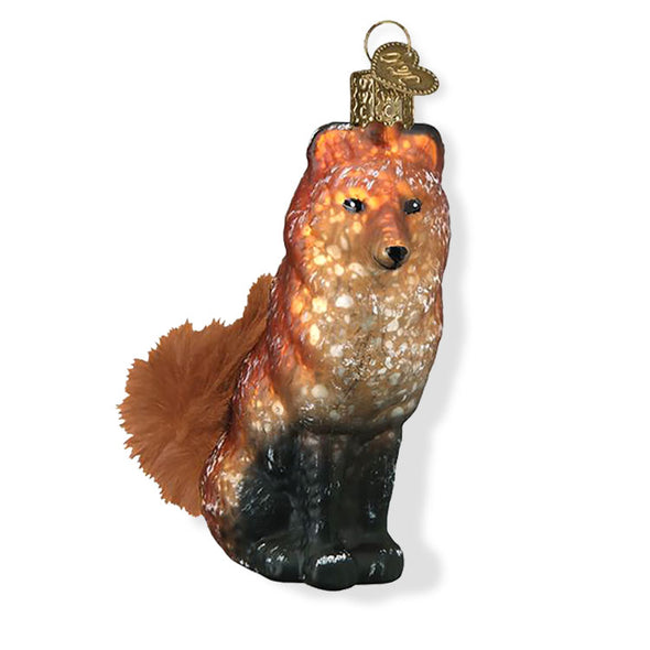 Vintage Fox Ornament