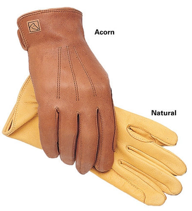 SSG 1850 Deerskin Lined Trail/Roper Gloves - The Tack Shop of Lexington