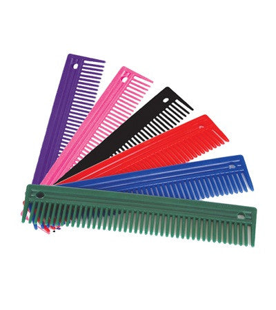 "Jacks Plastic Comb 9"" - The Tack Shop of Lexington"