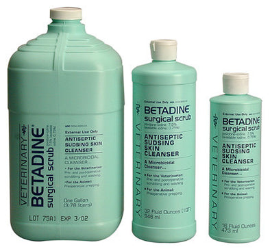 Betadine Surgical Scrub - The Tack Shop of Lexington