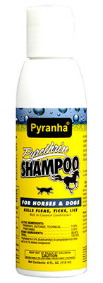 Pyranha Pyrethrin Shampoo - The Tack Shop of Lexington