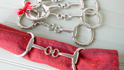 LILO Collections™ - Windsor Bit - Napkin Ring Holders - The Tack Shop of Lexington