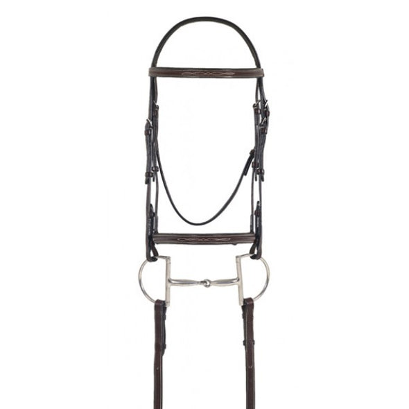 Ovation Elite Fancy Raised Comfort Crown Padded Bridle