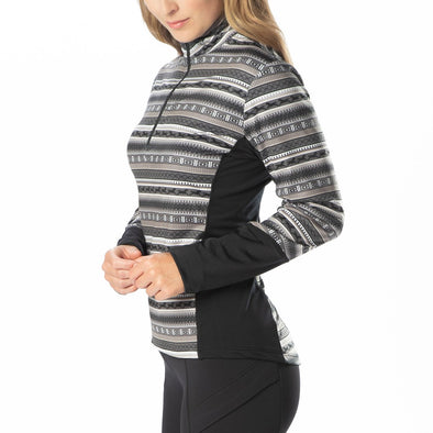 Kerrits Fair Isle Fleece Tech Top-'20