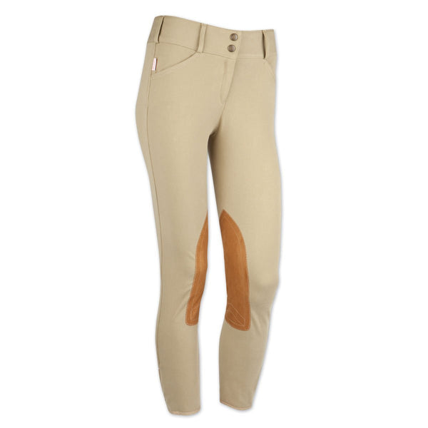 Tailored Sportsman Girls Trophy Hunter Front Zip Breeches - The Tack Shop of Lexington