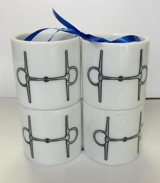 Huntsman Napkin Ring Set of 4 - The Tack Shop of Lexington