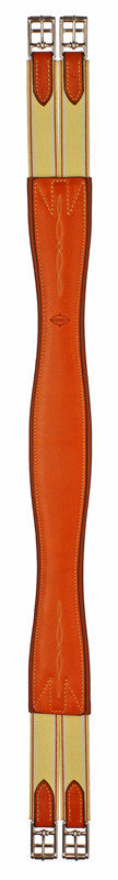 Edgewood Double Elastic Fancy Stitched Girth - The Tack Shop of Lexington - 1