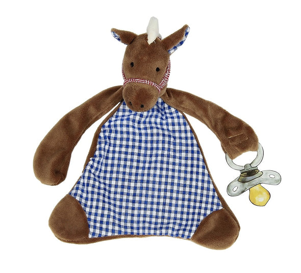 Maison Chic - Carson the Colt Pacifier Blankie