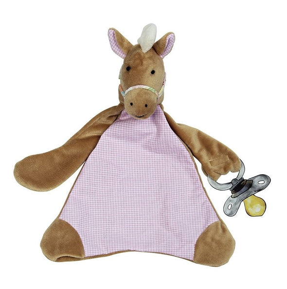 Maison Chic - Nellie the Horse Pacifier Blankie