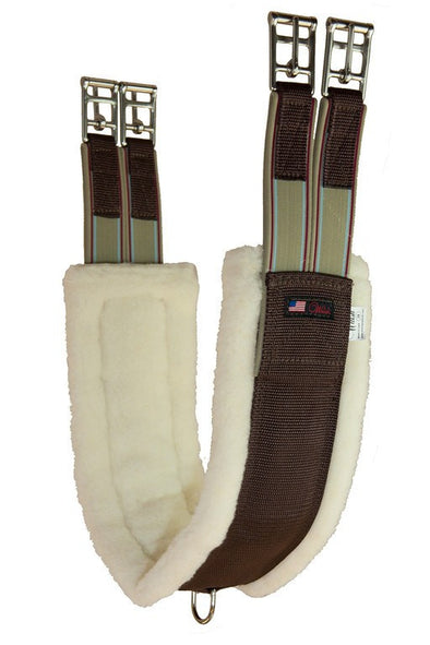 Walsh Synthetic Sheepskin Girth - The Tack Shop of Lexington
