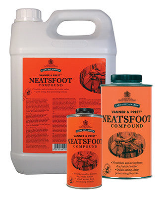 Vanner & Prest Neatsfoot Compound - The Tack Shop of Lexington