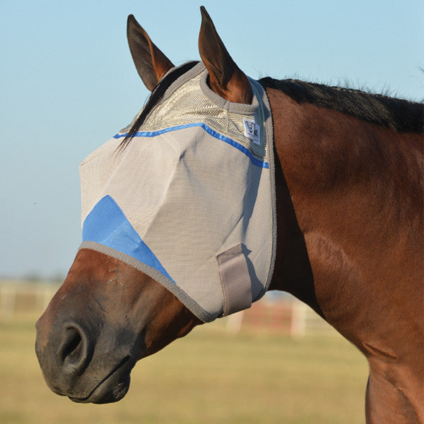 CASHEL WOUNDED WARRIOR CRUSADER FLY MASK