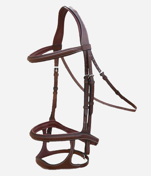 Arion Anatomic Double Noseband Bridle