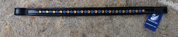 Red Barn Amberstone Browband