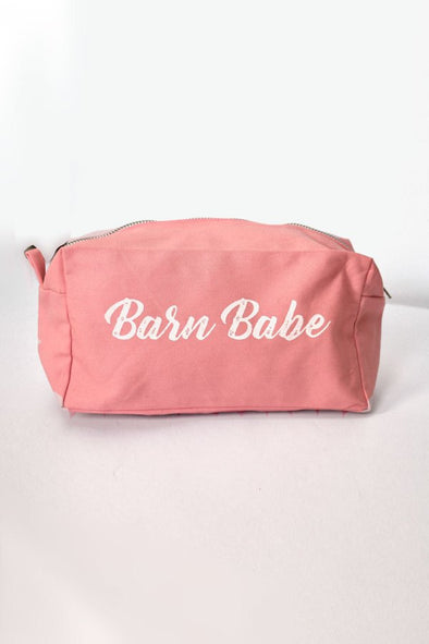 Spiced Equestrian Barn Babe Makeup Bag