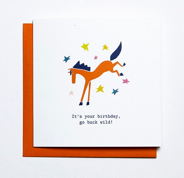 Mare Modern Goods Birthday Card
