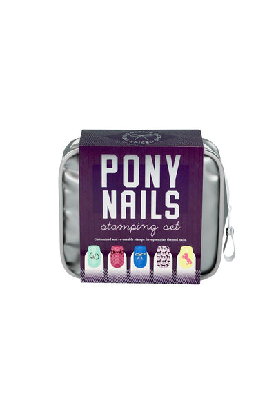 SPICED Pony Nails Stamping Set