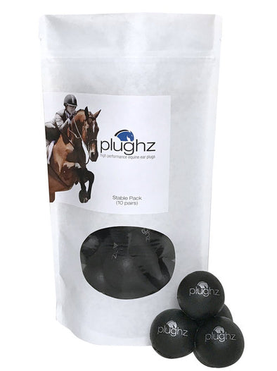 Plughz Equine Ear Plugs 10 Pack