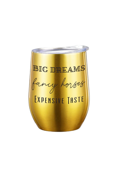 SPICED Big Dreams Insulated Wine Glass