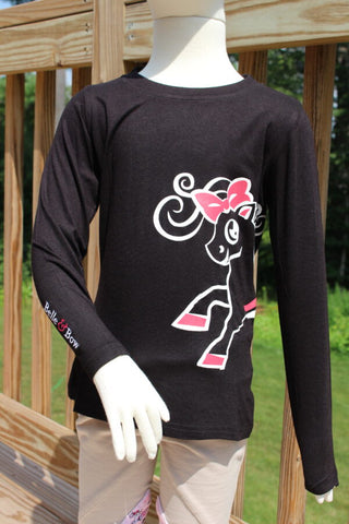 Belle Logo Long-Sleeve T