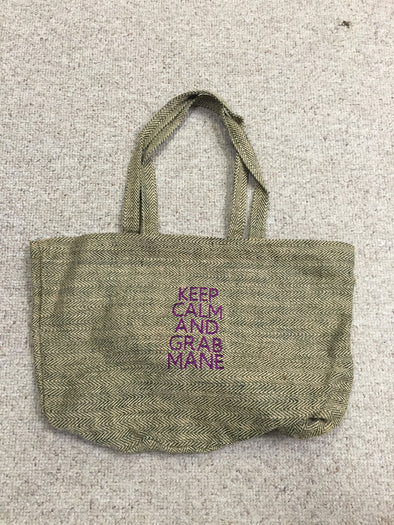 Jute Shopper Bag - The Tack Shop of Lexington - 1
