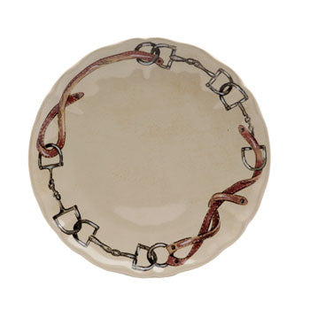 Casafina Equus Dinner Plate - The Tack Shop of Lexington