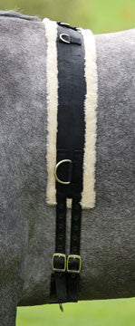Shires Nylon Surcingle with Fleece Lining - The Tack Shop of Lexington