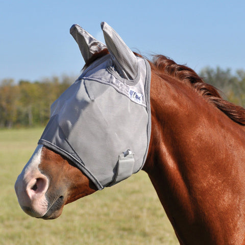 CASHEL CRUSADER FLY MASK STANDARD W/ EARS - The Tack Shop of Lexington