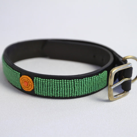 Dira Maasai Beaded Dog Collar - The Tack Shop of Lexington - 1