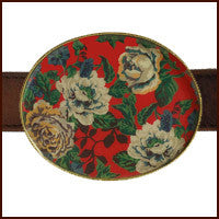 English Rose Buckle - The Tack Shop of Lexington