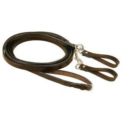 Tory Long Leather Draw Reins w/Snaps and Girth Loops - The Tack Shop of Lexington