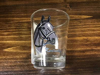 Kentucky Horse Head Shot Glass