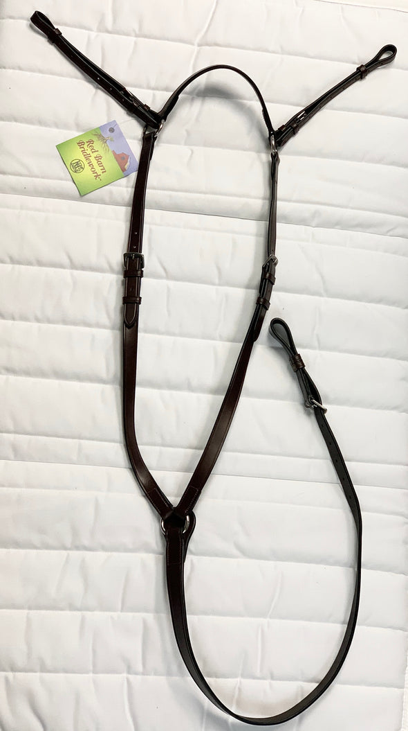 Red Barn Flat Adjustable Breastplate