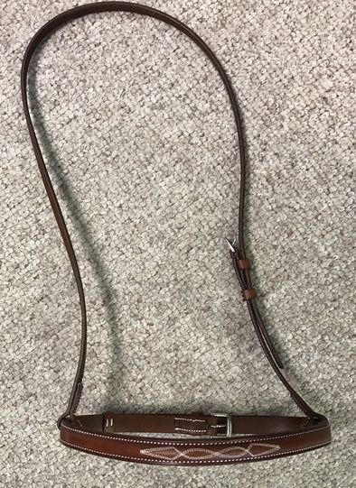 Courbette Raised Fancy Stitched Noseband