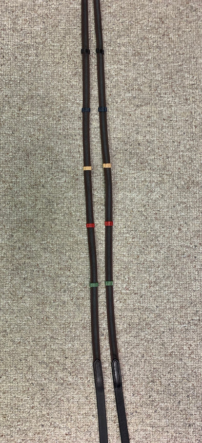 Camelot Anti-Slip Colored Stop Reins