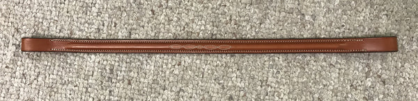 "Edgewood 5/8"" Fancy Stitched Raised Browband"