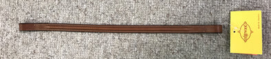"Edgewood 5/8"" Plain Raised Browband"