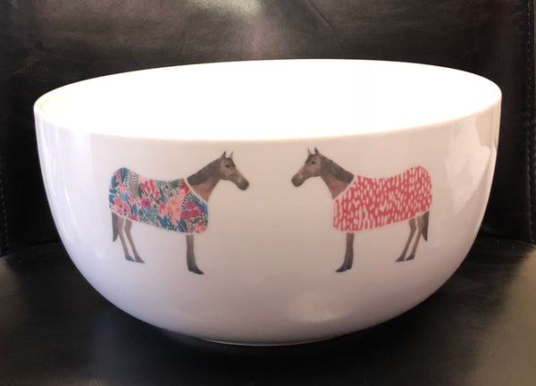Horse of Windsor Serving Bowl