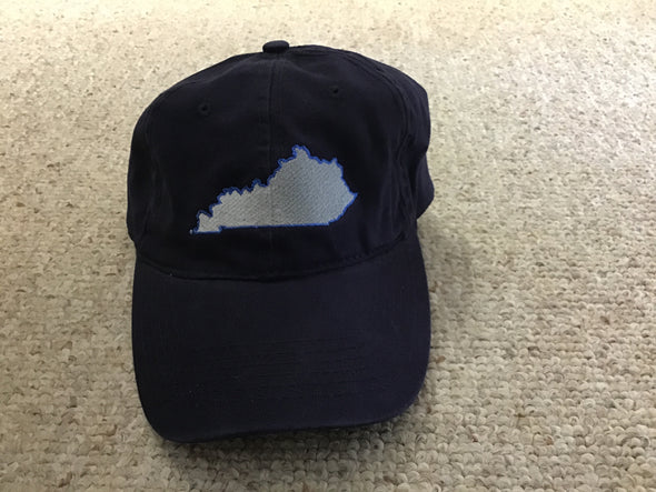 Kentucky Washed Cotton Map Hat