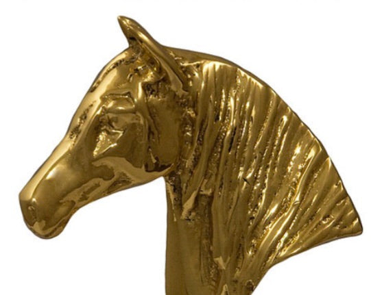 Horse Fare Horse Head Drawer Pull