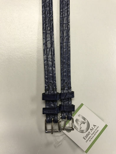Enter At A Croc Embossed Spur Straps - The Tack Shop of Lexington - 1