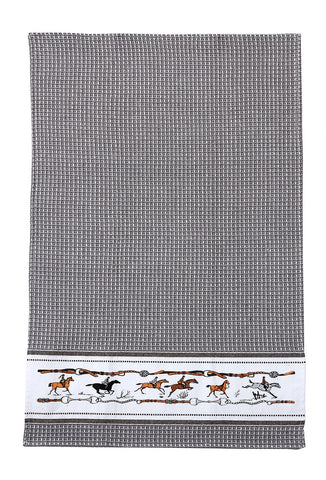 AWST Jumping Horse Kitchen Towel