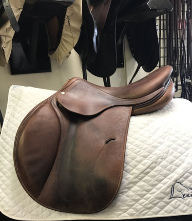"2010 17"" Antares Jumping Saddle Used"