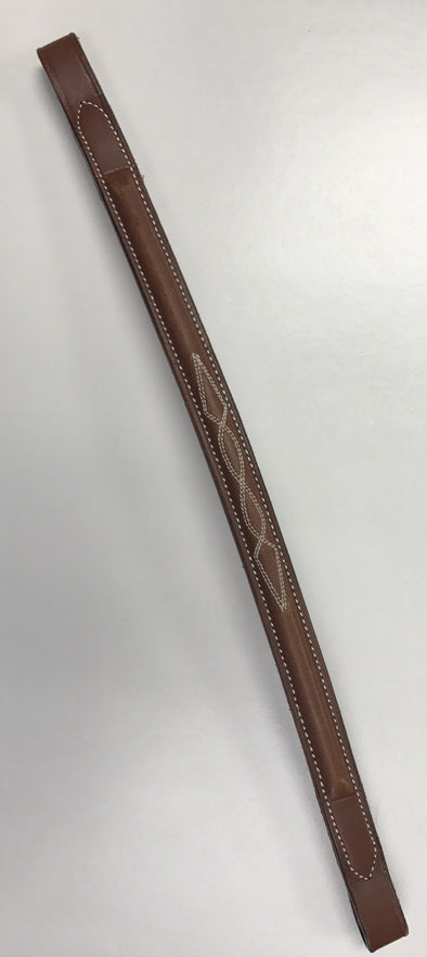 Courbette Raised Fancy Stitched Browband
