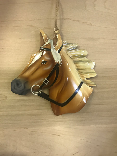Pony Head Ornament